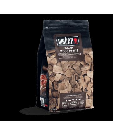 Hickory Wood Chips 0,7 Kg.